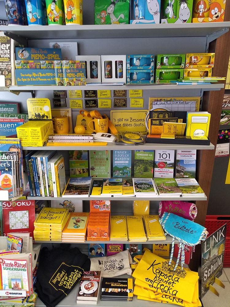 Schwäbische Geschenkideen und Bücher